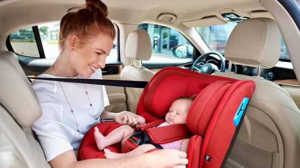 صندلی ماشین کودک کیندرکرافت